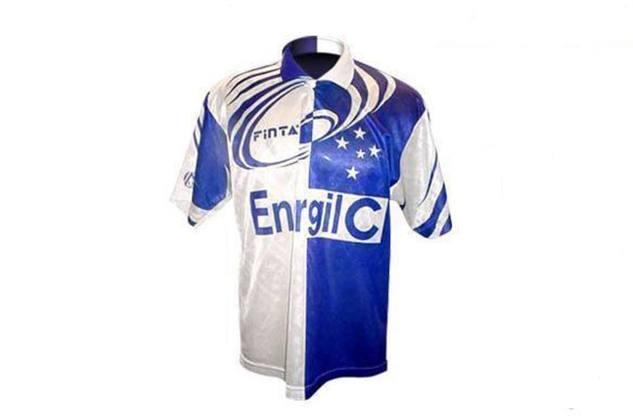 A camisa da temporada de 1996 do Cruzeiro é um considerada um case no futebol brasileiro de designs que não foram bem sucedidos.