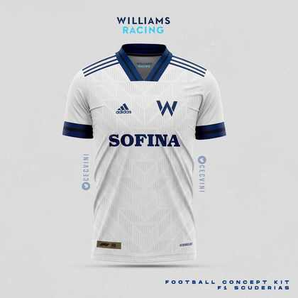 A camisa da Williams