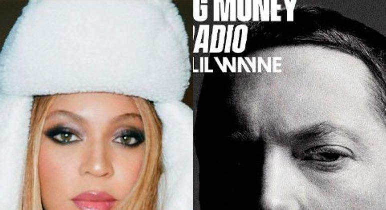 A cantora e o rapper firmaram parceria e estiveram juntos no sigle