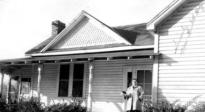 A casa onde viviam os Hodges, em Sylacauga, no Alabama, atraiu muita atenção na época