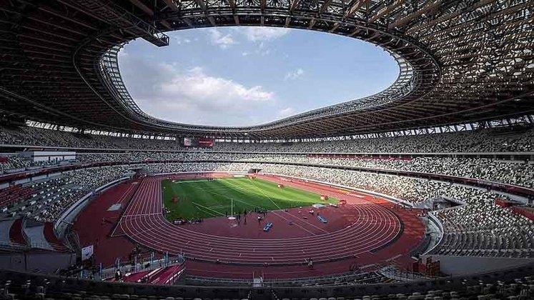 A cerimônia de abertura dos Jogos será às 8h.