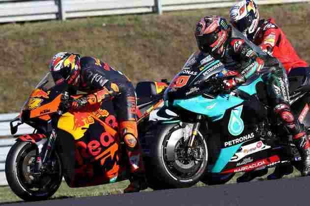 A classificação da MotoGP