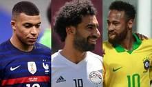 Veja as 16 seleções masculinas classificadas para as Olimpíadas