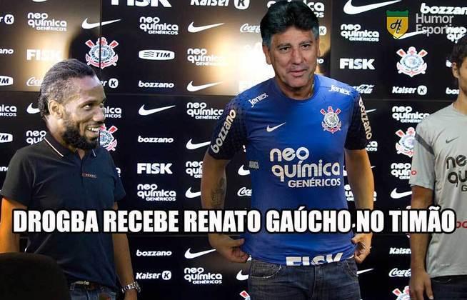 A confirmação do fim das negociações entre as duas partes na noite desta quinta-feira fez com que os rivais do Corinthians fizessem piadas e relembrassem o