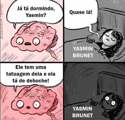 A confusão envolvendo Medina, Yasmin e Bufoni gerou memes na web