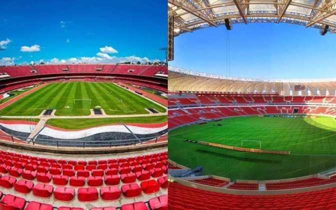 A Conmebol divulgou, nesta sexta-feira, uma lista com estádios interessados em receber as finais da Copa Libertadores e da Copa Sul-Americana em 2021, 2022 e 2023. Dois estádios brasileiros estão na briga por finais da Libertadores. Ainda não há uma data para as definições dos locais. Veja os estádios inscritos para as decisões: