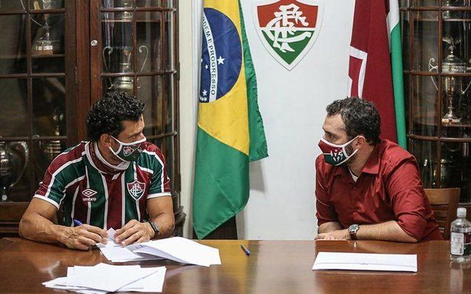 A contratação de Fred era uma das promessas de campanha de Mário Bittencourt, que sempre sonhou em repatriar o jogador.