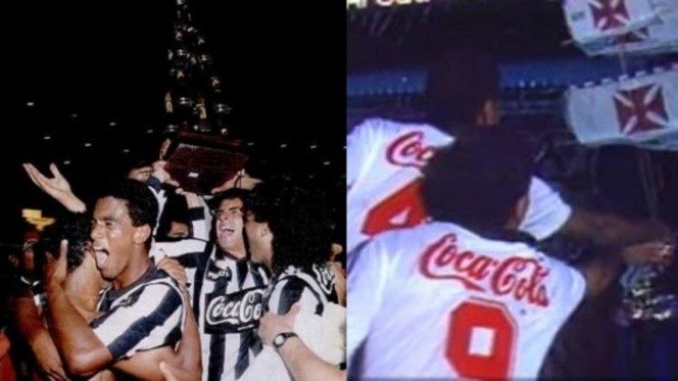 A decisão do Carioca de 1990 foi recheada por uma confusão no Maracanã. Em campo, o Botafogo bateu o Vasco por 1 a 0, com gol de Carlos Alberto Dias. Porém, o Cruz-Maltino, tendo apoio da Ferj, interpretou que em caso de derrota, haveria uma prorrogação. Após 30 minutos de volta olímpica alvinegra, o elenco vascaíno pegou uma caravela de papel e celebrou à sua maneira o