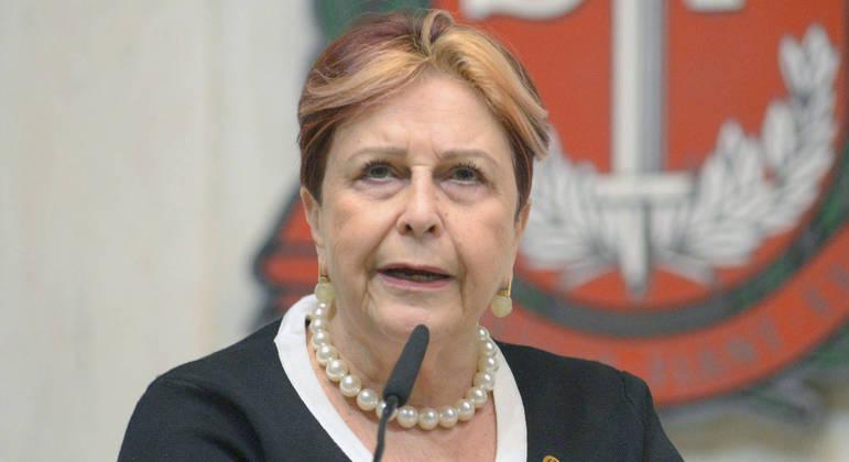 A deputada estadual Edna Macedo (Republicanos) fala sobre o PL da 'menstruação sem tabu'