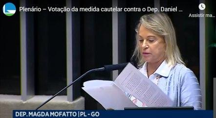 A deputada federal Magda Mofatto (PL-GO)