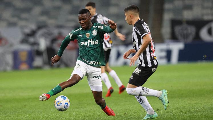 A derrota do Palmeiras para o Atlético-MG, no Mineirão, teve um fator decisivo: a expulsão de Patrick de Paula ainda no primeiro tempo. O vermelho foi controverso e ocorreu quando o jogo estava 0 a 0 (notas por Nosso Palestra)