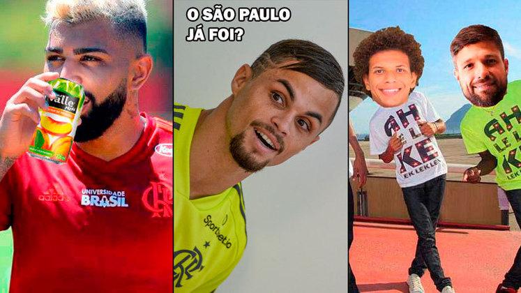 A derrota por 4 a 1 para o São Paulo fez com que o Flamengo perdesse a oportunidade de assumir a liderança do Brasileirão e se juntou a uma série de resultados que fizeram o rubro-negro virar piada para os rivais nos últimos anos. Reunimos algumas goleadas, eliminações e derrotas marcantes do clube carioca de 2014 para cá e mostramos na galeria. Confira! (Por Humor Esportivo)