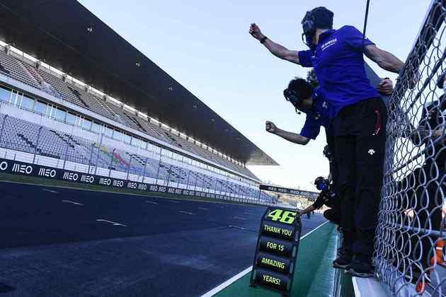 A despedida de Rossi em Portugal