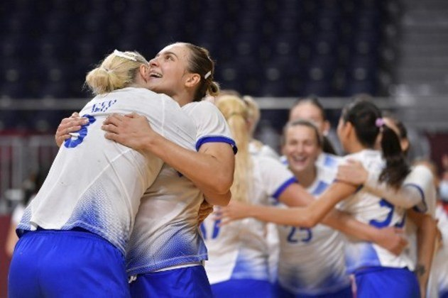 A disputa pela medalha de ouro no handebol feminino será às 3h, entre França e Comitê Olímpico Russo (foto).