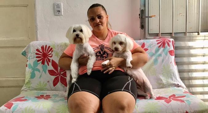 A doméstica Eliana Maria de Moura perdeu o emprego em fevereiro: 'Desesperada'
