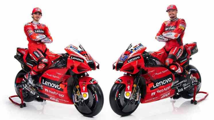 A Ducati apresenta pintura mais vermelha para a temporada 2021 da MotoGP