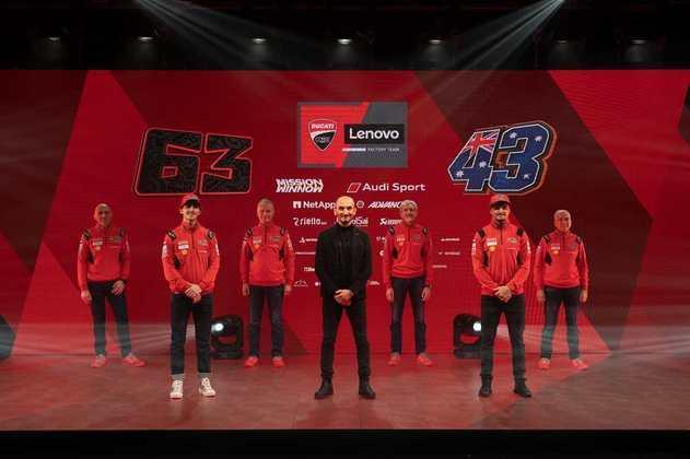 A Ducati realizou evento online para apresentar a GP21, moto de 2021. Confira como ficou
