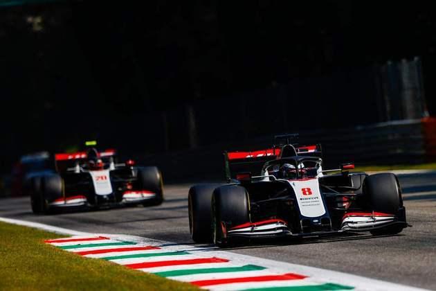 A dupla da Haas novamente teve desempenho discreto nos treinos