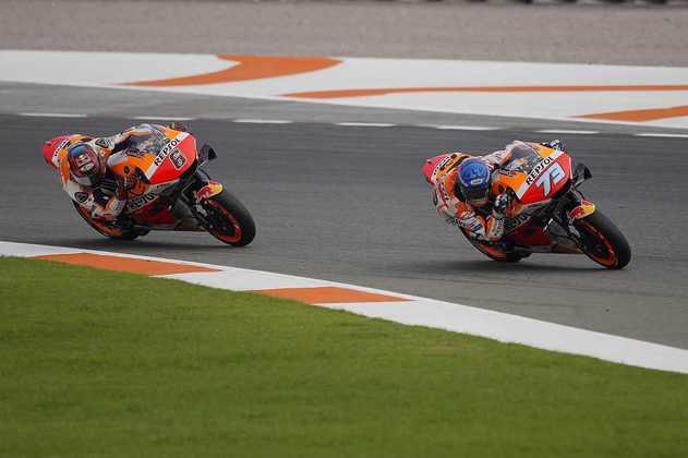 A dupla da Honda ficou no Q1