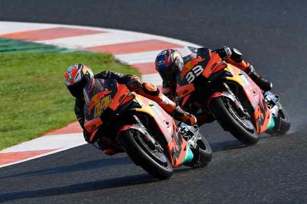 A dupla da KTM