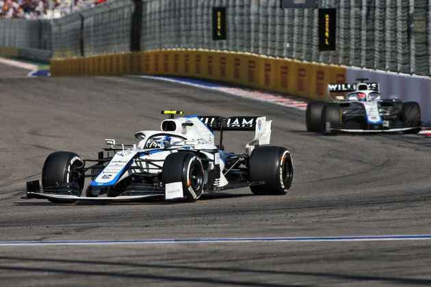 A dupla da Williams mais uma vez terminou a corrida fora da zona de pontuação