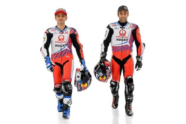 A dupla de pilotos para 2021