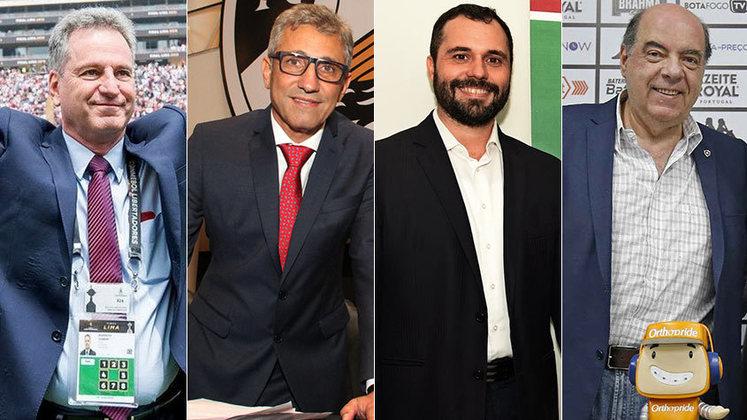 A edição de 2020 do Campeonato Carioca já foi marcada por um embate em torno da data de retomada da competição. Enquanto Flamengo e Vasco projetavam o retorno no fim de junho, Fluminense e Botafogo queriam que a bola só voltasse a rolar em julho.