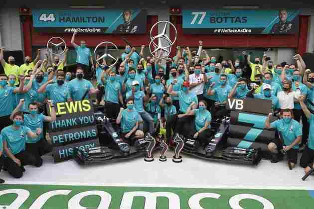 A equipe domina a Fórmula 1 desde 2014, quando a era híbrida entrou na categoria