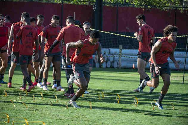 A equipe volta a treinar no Ninho do Urubu nesta quinta-feira, dando sequência aos trabalhos de Rogério Ceni.