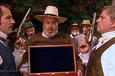 Leôncio trapaça em duelo com o Conde de Campos