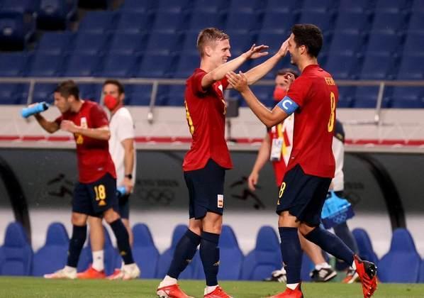 A Espanha assegurou a liderança do Grupo C após empatar com a Argentina por 1 a 1. Os espanhóis encaram a Costa do Marfim, que eliminou a Alemanha, nas quartas de final.