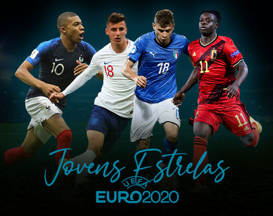 A Eurocopa começa nesta sexta-feira (11), e contará com alguns dos maiores jogadores de futebol da atualidade. Além dos já consagrados, jovens estrelas também prometem brilhar no torneio. Conheça alguns deles: