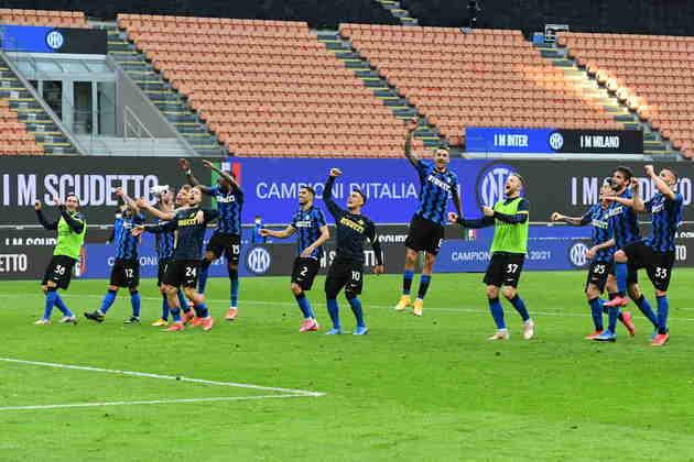 A exemplo da Alemanha, o título já está definido na Itália. A Inter de Milão conquistou o Campeonato Italiano com quatro rodadas de antecedência e voltou a ser campeã depois de 11 anos.