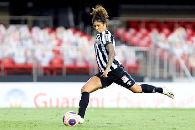 A experiente Cristiane renovou seu contrato e segue na Vila
