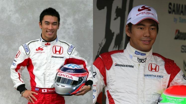 A extinta Super Aguri era da rabeira do grid, com a dupla japonesa formada por Takuma Sato e Sakon Yamamoto.