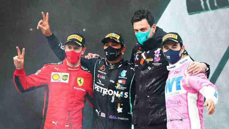 A F1 viu 13 pilotos diferentes no pódio em 2020. Relembramos todos hoje.