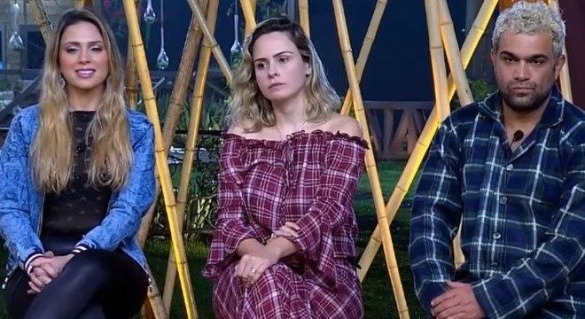Nadja Pessoa, Ana Paula Renault e Evandro Santo em dia de Roça