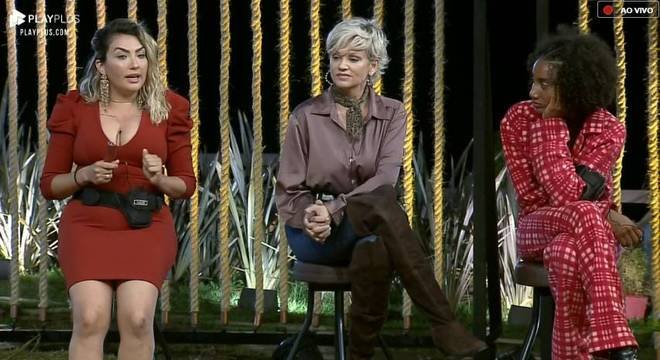 Sabrina, Andréa e Thayse estão na sétima Roça da temporada