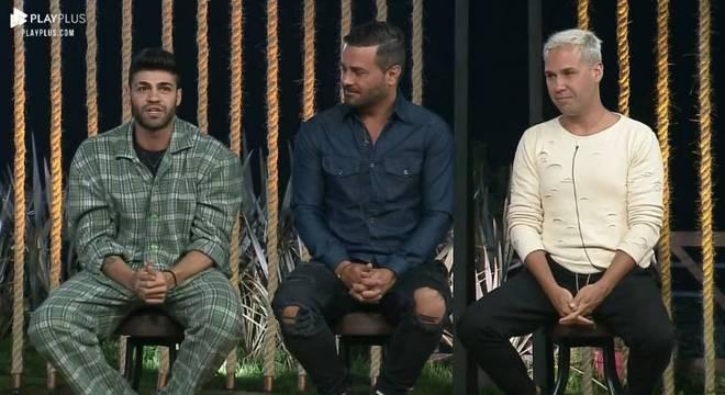 Netto, Rodrigo e Viny estão na nona Roça da temporada