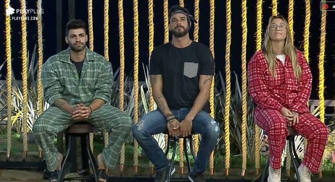 Bifão, Diego e Netto estão na sexta Roça da temporada