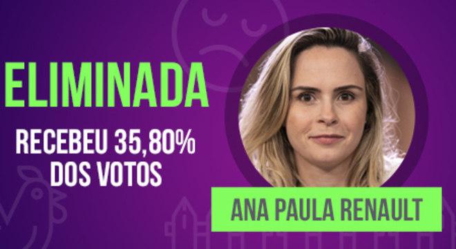 Ana Paula se despede de A Fazenda
