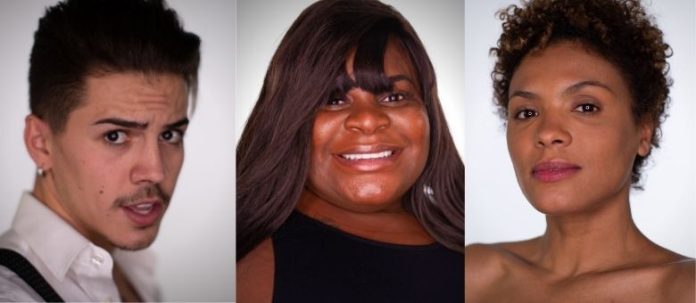 Biel, Jojo e Lidi formam o trio da Roça do último domingo (13)