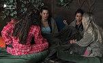 Durante uma conversa na Casa da Árvore,as peoas Luiza Ambiel, MC Mirella, Raissa Barbosa e Carol Narizinho,analisaramcomo foram os votos na formação da primeira Roça. Elas perceberam que está na hora de adotar alguma estratégia.