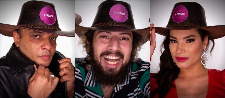 Fernandinho Beatbox, Lucas Cartolouco e Raissa Barbosa formam a primeira Roça