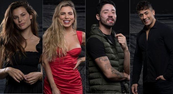 Dayane Mello, Erika Schneider, Rico Melquiades e Tiago Piquilo são indicados para a Roça