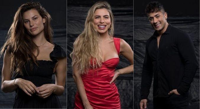 Dayane Mello, Erika Schneider e Tiago Piquilo estão na Roça