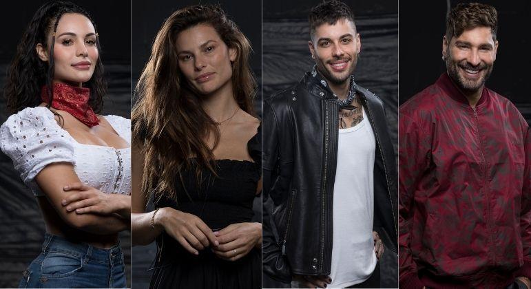 Aline, Dayane, Gui Araujo e Victor são indicados à Roça