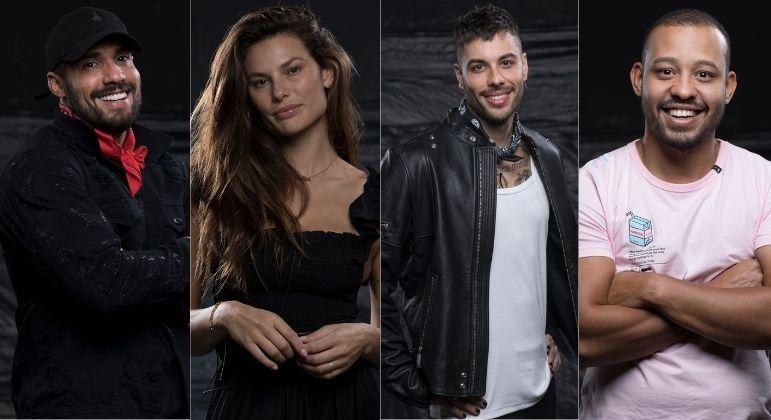 Bil Araújo, Dayane Mello, Gui Araujo e Mussunzinho são indicados à Roça