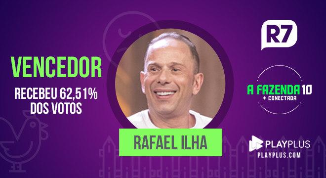 Rafael Ilha ganhou o prêmio de R$ 1,5 milhão