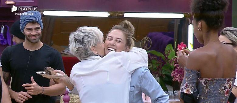 Andréa e Bifão construíram uma linda amizade no reality!